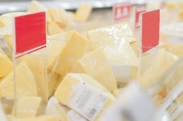Cheese Labels Grocery Store