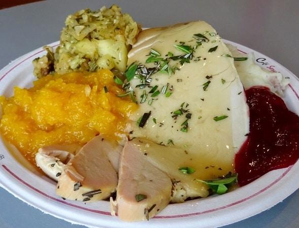 Turkey Dinner Kicked up a Few Notches
