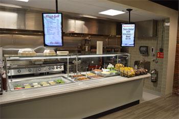 W.B. Mason's Corporate Dining Area