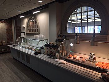 Cafe Services Brings Contemporary Corporate Dining To Classic Office Site At W.B. Mason's