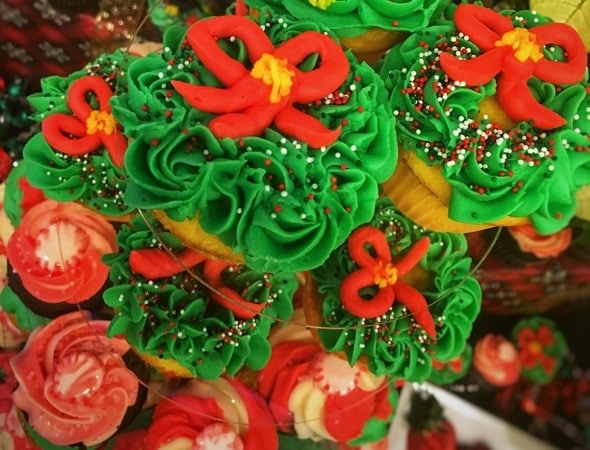 Christmas Cupcakes from Unifirst, Wilmington, Massachusetts