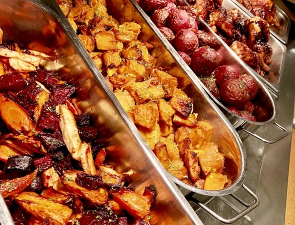 Glazed potatoes from the method glazed promotion