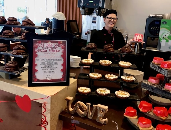 Our Guest Baker at Our Waltham, MA Cafe'!
