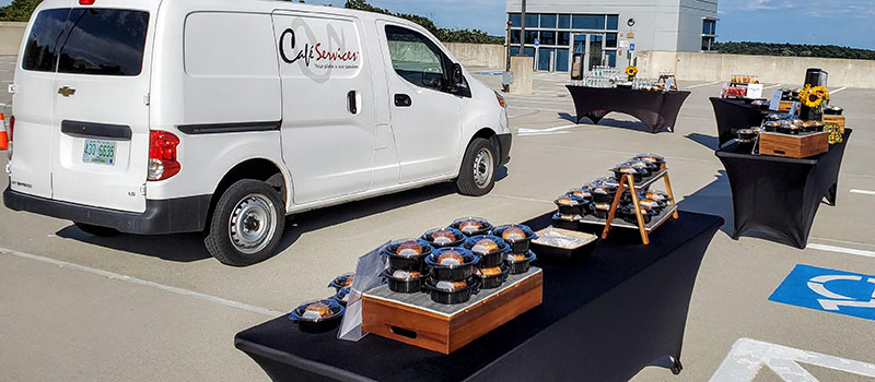 Contactless Corporate Catering