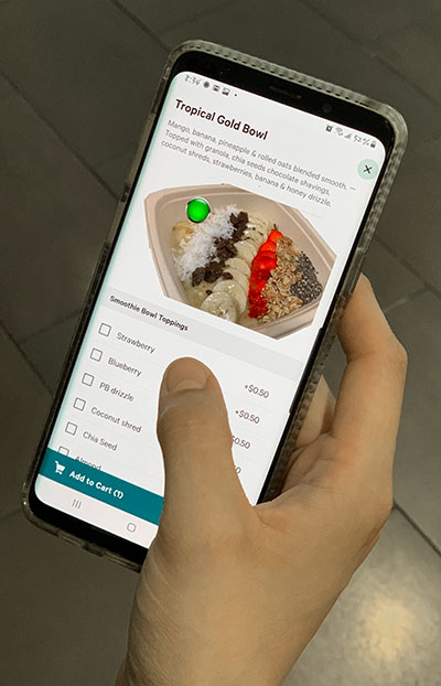 Contactless Ordering