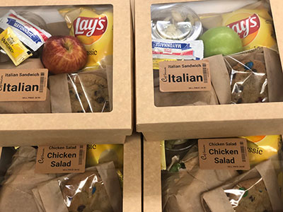Pre-packaged Corporate Dining Meals