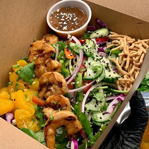 Corporate Dining Asian Salad
