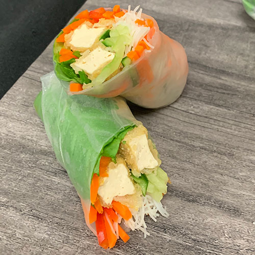 Tofu Veggie Wrap